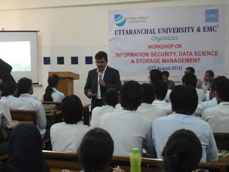 Uttaranchal University Collaborates with EMC2 for Student Training