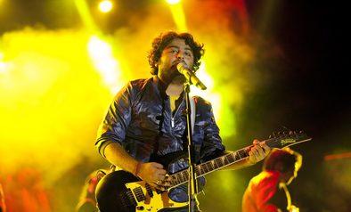 Arijit Singh Performed at Uttaranchal Yuva Fest - 2015