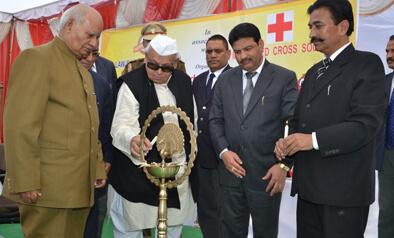 Hon'ble Governor of Uttakhand Mr. Aziz Qureshi