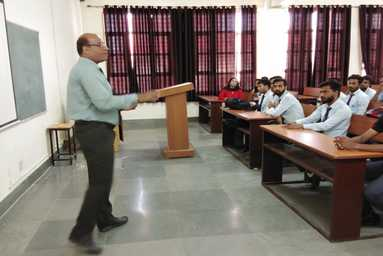 Uttaranchal Institute of Technology organizes a Guest Lecture on 'Interview Skills'