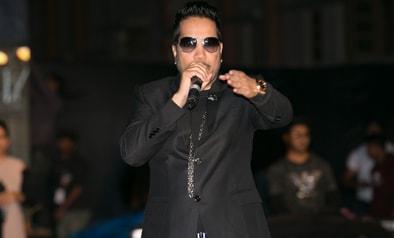 Mika Singh Performed at Uttaranchal Yuva Fest - 2016