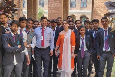 Students of Uttaranchal Institute of Pharmaceutical Sciences visit Forest Research Institute