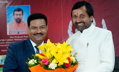 Hon'ble Cabinet Minister of Uttarakhand Mr. Prakash Pant