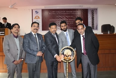 Law College Dehradun organizes a two-day National Seminar on 'Alternative Dispute Resolution'
