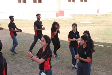 Uttaranchal Institute of Technology organizes a Nukkad Natak on 'Unity of Minds and Unity of Action to fight against corruption and detrimental mindset'