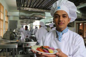 Uttaranchal University Training Kitchen