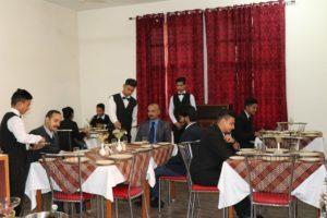 Uttaranchal University Training Restaurant
