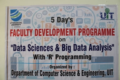 Uttaranchal Institute of Technology starts its Faculty Development Programme on Data Sciences and Big Data Analytics