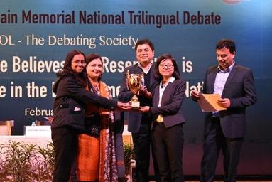 "Law College Dehradun emerges triumphant in ""National Debate Competition 2019"""