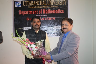 School of Applied and Life Sciences organizes a Guest Lecture on 'Calculus'
