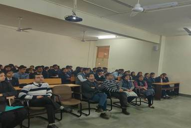 School of Applied and Life Sciences organizes a Guest Lecture on 'Entrepreneurship Development'