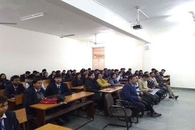 """School of Applied and Life Sciences organizes a Guest Lecture on """"Enzymes"""""""