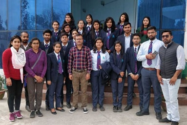 Uttaranchal College of Applied & Life Sciences organizes an Industrial Visit to Ved Lifesavers Pvt. Ltd.