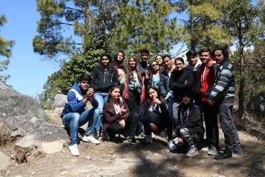 Uttaranchal College of Journalism and Mass Communication organizes an Educational Visit to 'Kanatal'