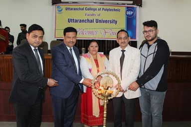 "Uttaranchal College of Polytechnic organizes ""Felicitation Ceremony"""