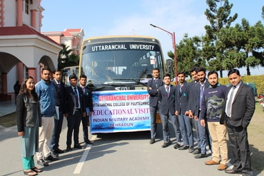 Uttaranchal College of Polytechnic organizes an Educational Tour to Indian Military Academy