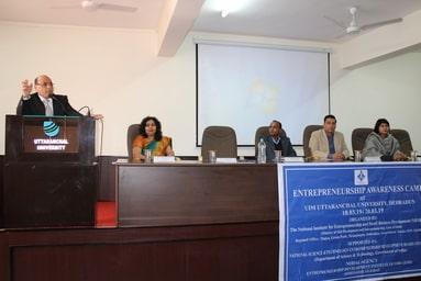 Uttaranchal Institute of Management is organizing 'Entrepreneurial Awareness Camp'