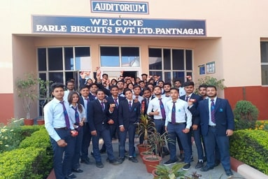 "Uttaranchal Institute of Management organizes an Industrial Visit to ""Parle Biscuits Private Limited"""