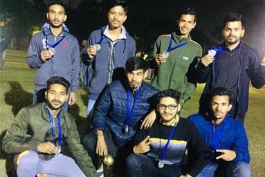 Uttaranchal University Volleyball (M) Team stands Runner-up in 'Aavahan 5.0'