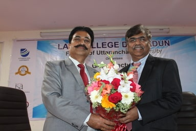 """Law College Dehradun organizes a Guest Lecture on """"Lawyers in Making"""""""