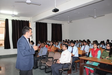 """Uttaranchal Institute of Pharmaceutical Sciences organizes a Guest Lecture on """"Pharmaceutical Quality System & Regulatory Challenges"""""""