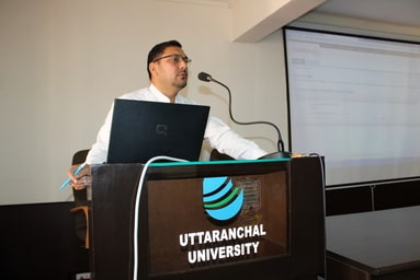Uttaranchal University's Central Library organizes an Interactive Session on Anti-Plagiarism Software Turnitin
