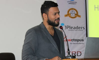 Mr. Ramanuj Mukherjee Co-founder and CEO of iPleaders