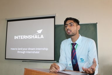 "Uttaranchal Institute of Technology organizes a Presentation Session on ""Soft Skill Development and Internship"""