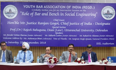 Hon'ble Mr. Justice Ranjan Gogoi, Chief Justice of India.