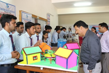 "Uttaranchal College of Polytechnic organizes ""Model Exhibition"""