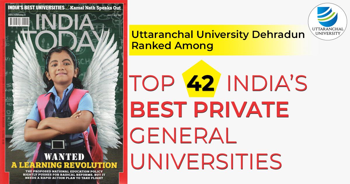 Top India's Best Private General Universities