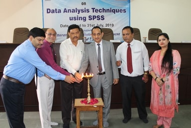 Uttaranchal Institute of Management organizes a 10-day Faculty Development Programme on 'Data Analysis Techniques using SPSS'