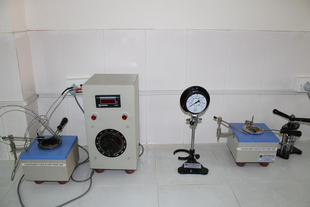 Petroleum Products Testing Laboratory