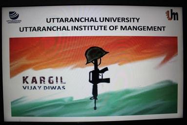 Uttaranchal Institute of Management celebrates 'Vijay Divas'