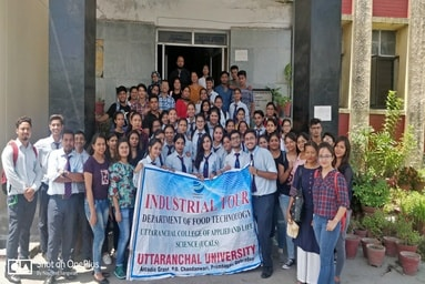 Uttaranchal College of Applied & Life Sciences conducts an Industrial Tour to Aanchal Dairy, Dehradun