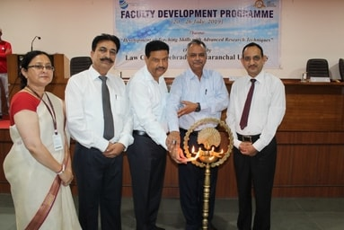 "Law College Dehradun organizes a Faculty Development Program entitled ""Development of teaching skills with Advanced Research Techniques"""