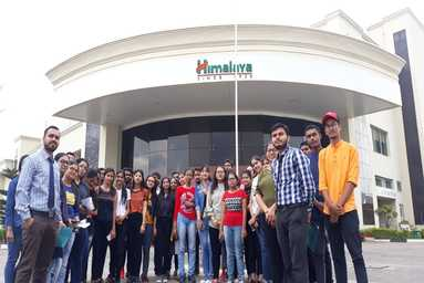 Uttaranchal College of Applied & Life Sciences organizes an Industrial Visit to Himalaya Drug Company, Dehradun