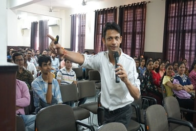 Uttaranchal Institute of Management conducts a Motivational Talk