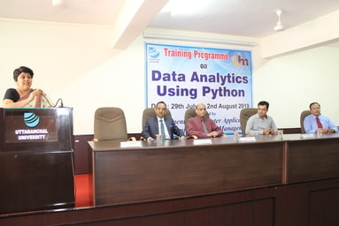 Uttaranchal Institute of Management conducts the Valedictory Session of the Training Programme on 'Data Analytics Using Python'