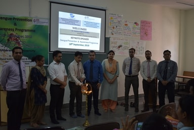"""School of Applied and Life Sciences organizes an Awareness Programme on """"Dengue Prevention"""""""