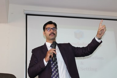 Uttaranchal Institute of Management conducts a Guest Lecture on 'Goal Setting and Wealth Management'