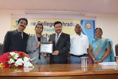 Law College Dehradun felicitates Ms. Richa Bhatt – An M.P. Judiciary Qualifier