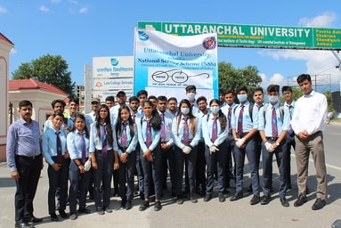 Uttaranchal Institute of Management conducts Cleanliness Drive under Swachhata Hi Sewa Campaign