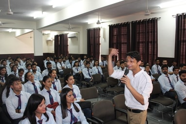 Uttaranchal Institute of Management conducts a Guest Lecture on 'Time Management'