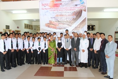 School of Hospitality Management conducts a Workshop on 'Modern French Pastry & Travel Cakes'
