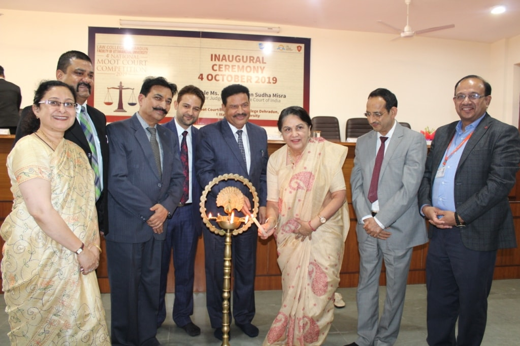 """Law College Dehradun splendidly inaugurates its """"4th National Moot Court Competition"""""""