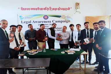 Law College Dehradun conducts a Legal Awareness Campaign