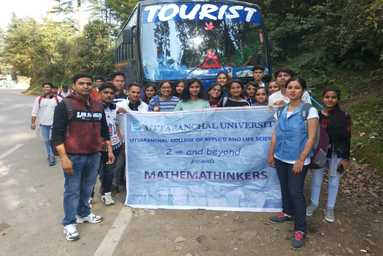 Department of Mathematics organizes an Educational Tour to Dhanaulti