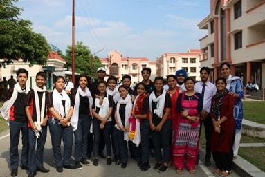 "Students of School of Liberal Arts perform a Street Play entitled ""Jal – Jeewan Ka Aadhar"""