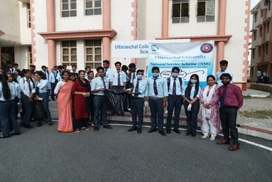 NSS Members of School of Agriculture conduct 'Cleanliness Drive'